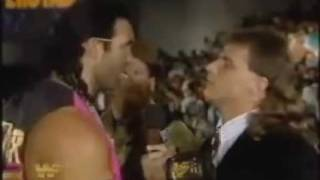HBK & Razor on the mic 12/4/93