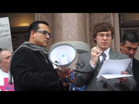 1/14/2015 -- Pro In-State Tuition Press Conference (Part 1)