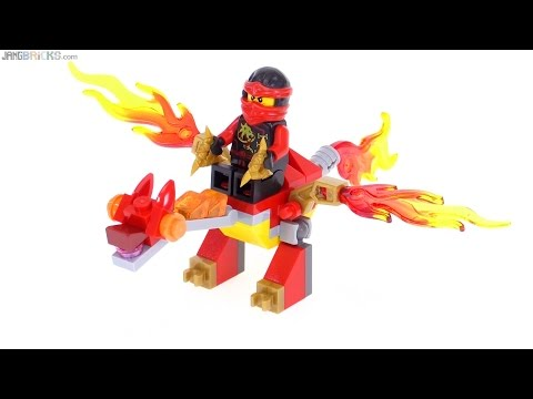 Lego ninjago kai 39 s mini dragon polybag review 30422 youtube - Lego ninjago dragon a 4 tetes ...