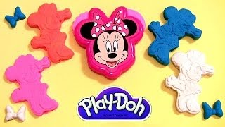 Play Doh Minnie Stamp & Cut Toodles Set Mickey Mouse Clubhouse Disneyplaydough by DisneyCollector