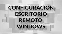 Como configurar escritorio remoto en Windows 10| Conexión con otro equipo