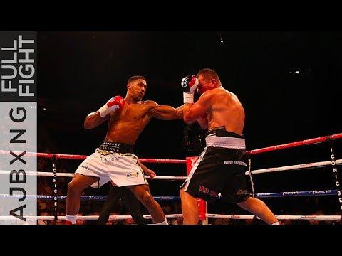 Full Fight | Anthony Joshua Vs Konstantin Airich TKO