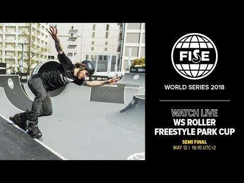 FWS MONTPELLIER 2018: WS Roller Freestyle Park World Cup Semi Final