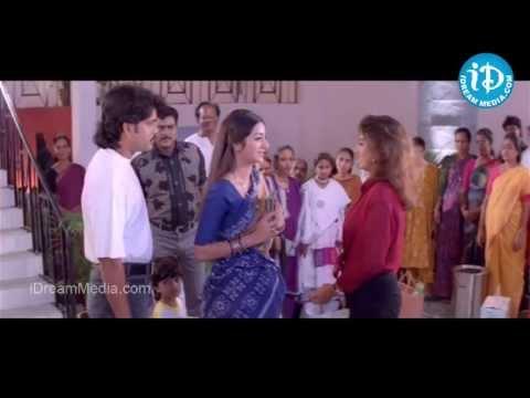 Aavida Maa Aavide Movie - Nagarjuna, Tabu, Heera Funny Scene