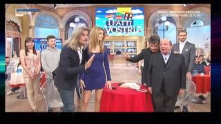 Adriana Volpe   Minigonna   i Fatti Vostri   23 02 17