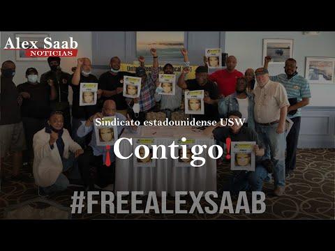 Alex Saab News - Apoyo internacional USW