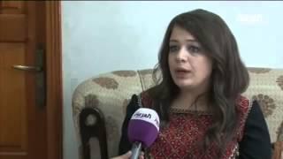 الممثلة الفلسطينية اناهيد تصل غزة من سوريا