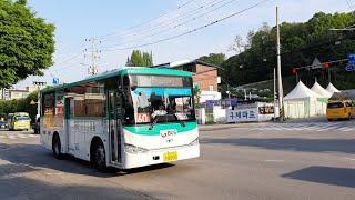 [대양운수] 동두천시 시내버스 60번 (동두천터미널.롯…