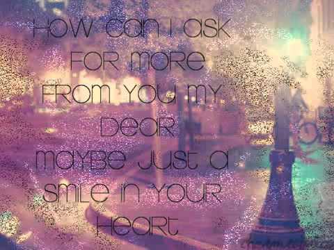 Smile In Your Heart   Sandara Park Lyrics