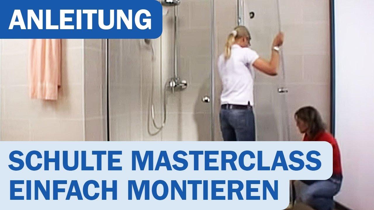 Duschkabinen-Montage (Schulte MasterClass)