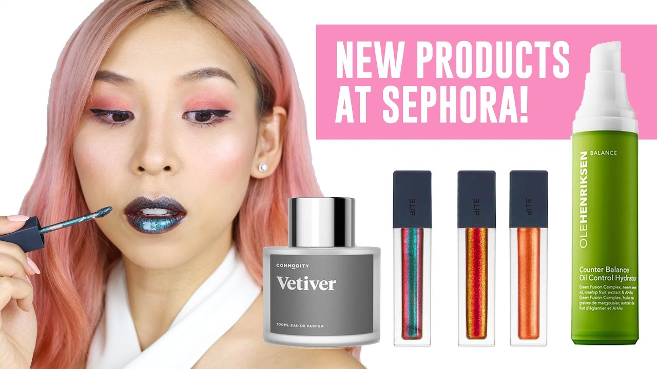 HOT NEW PRODUCTS AT SEPHORA!! TINA TRIES IT
