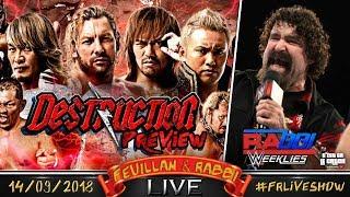 [FRLive] Preview NJPW Destruction ⊕ WWE Rabbi Weeklies ⊕ Q&A