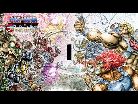 (DC) He-Man And Thunder Cats Motion Comic #1 - Sword Of Omens OneShot