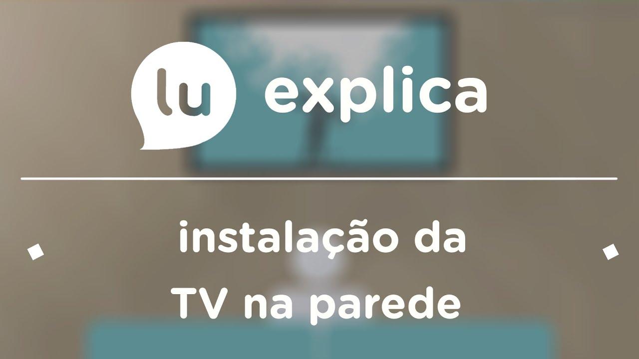 Altura De Tv Na Parede Sala ~ Como instalar a TV na parede ou no painel? Um passo a passo bem