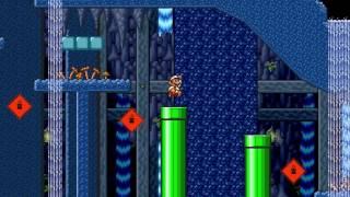 Super Mario Bros  X (SMBX) Custom Level - Retro Escapade - bossedit8