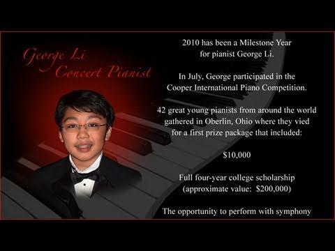 George Li's Musical Journey: 2005 To 2010