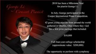 George Li's Musical Journey: 2005 to 2010