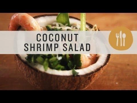 Superfoods - Coconut & Shrimp Salad