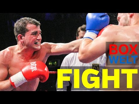 Sebastiano Lo Zito vs Giorgi Khulelidze - 4 rounds Super Middleweight - 02.04.2017 - Hamburg
