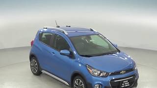 182678 - New, 2018, Chevrolet Spark, ACTIV, Hatchback, Blue, Test Drive, Review, For Sale -