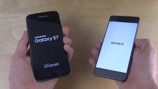 Samsung Galaxy S7 vs. Sony Xperia XA - Which Is Faster?
