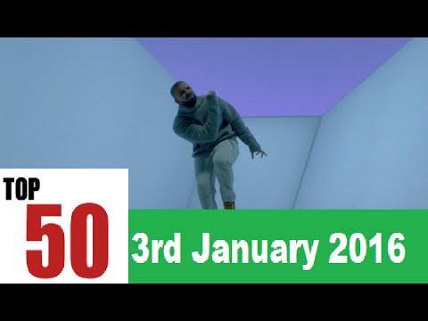 Top 50 Songs Of The Week - 3rd January 2016