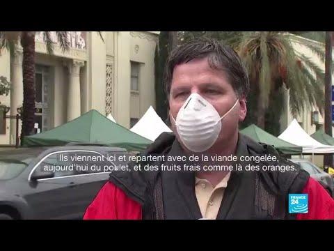 Coronavirus: Aux États-Unis, la solidarité avec les plus démunis s'organise
