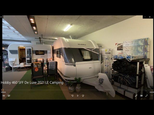 Hobby 460 SFF De Luxe 2021 LE Camping