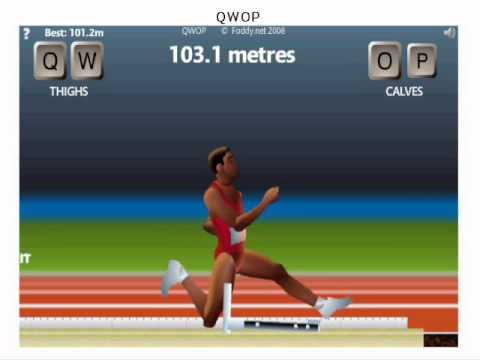 QWOP: 111.2m?! What's Beyond the Jump Landing Area??