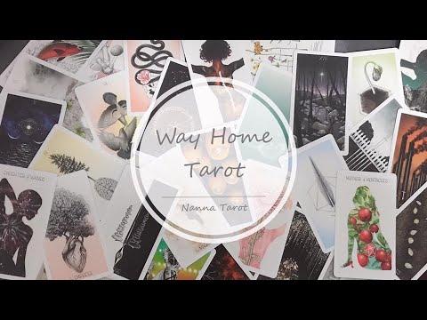 開箱  歸途塔羅牌 • Way Home Tarot // Nanna Tarot