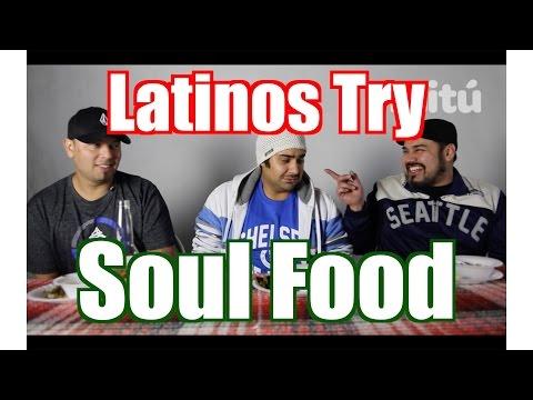 Latinos Try SOUL FOOD | Taste Test | mitú