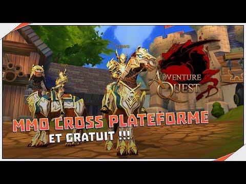 AdventureQuest 3D | Découverte : MMO GRATUIT (PC, IOS, Android)