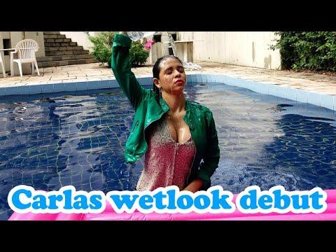 Carlas wetlook debut