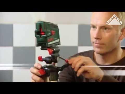 Utiliser Le Niveau Laser Croix Pcl 20 Bosch