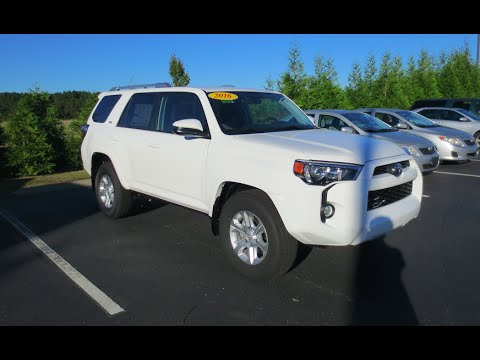 2016 Toyota 4runner Sr5 Full Tour Start Up At Mey
