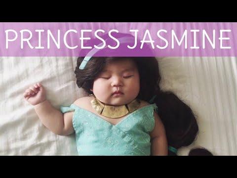 6c565f846 How To: Princess Jasmine Baby Costume - YouTube