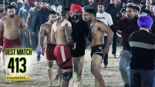 #413 Best Final Match | Shahkot Vs Sarhala Ranuan | Babeli (Phagwara) Kabaddi Cup 29 Jan 2019