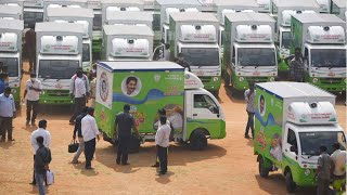 Andhra CM Jagan Mohan Reddy to flag off 2,500 ration door-delivery vehicles on January 21