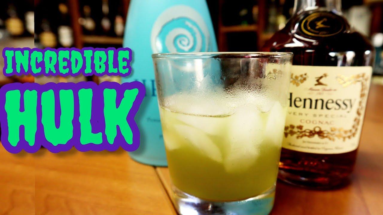 Incredible Hulk Cocktail Recipe - YouTube