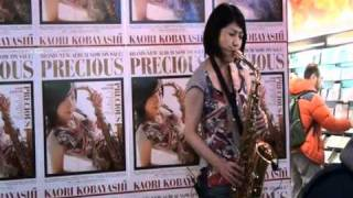Kaori Kobayashi Nothing's Gonna Change My Love for You-Live in Taiwan 小林香織 Sax サックス