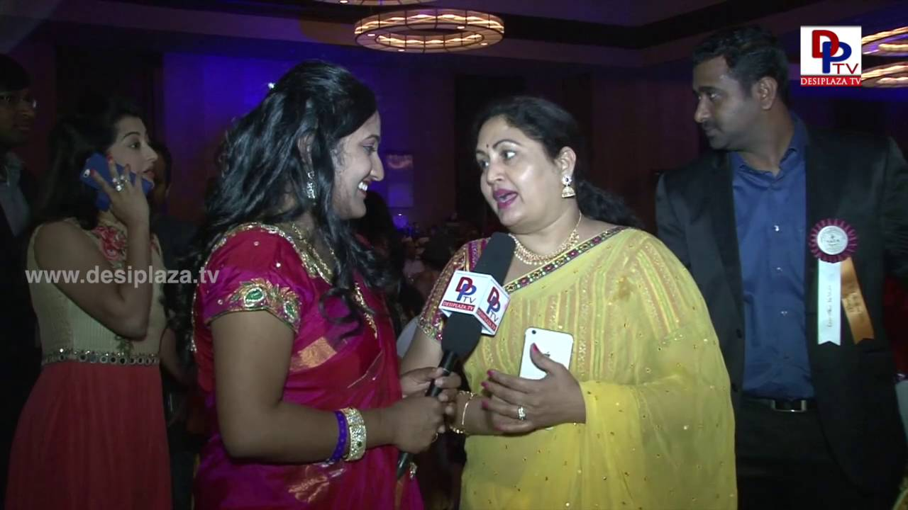 Rajitha Chowdari speaking to Desiplaza TV at NATA Convention Banquet 2016
