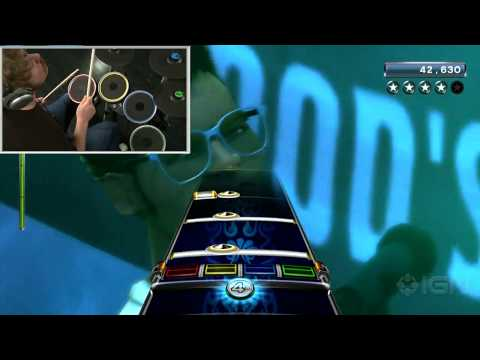 Rock Band 3: Be a Pro Drummer Video Feature