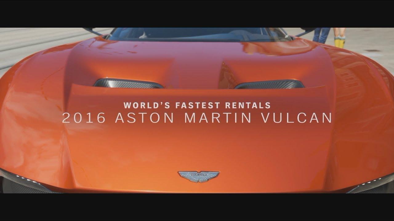 world's fastest rentals part 5/10: aston martin vulcan (3 star race