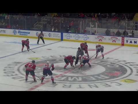 Serge Beaulieu ( Moncton vs Quebec ) quebec major junior hockey league .
