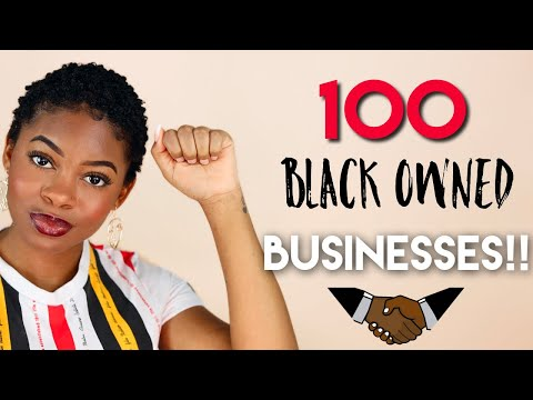 100 BLACK OWNED BUSINESSES YOU NEED TO KNOW ABOUT   Hair Skin Makeup Fashion & More