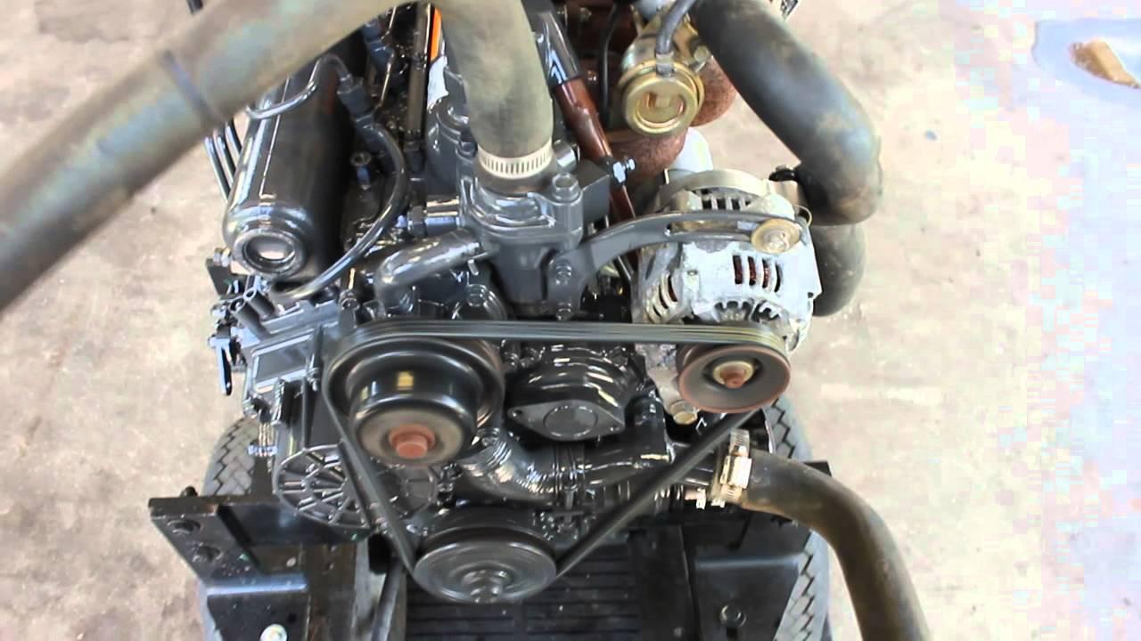 After repair Kubota turbo v1505 by kuusistotube
