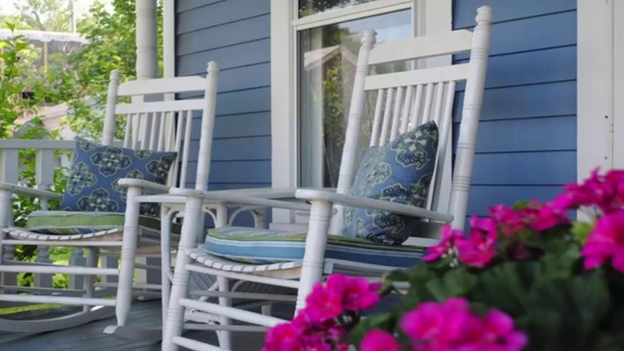 Cracker Barrel Front Porch Rocking Chairs Youtube