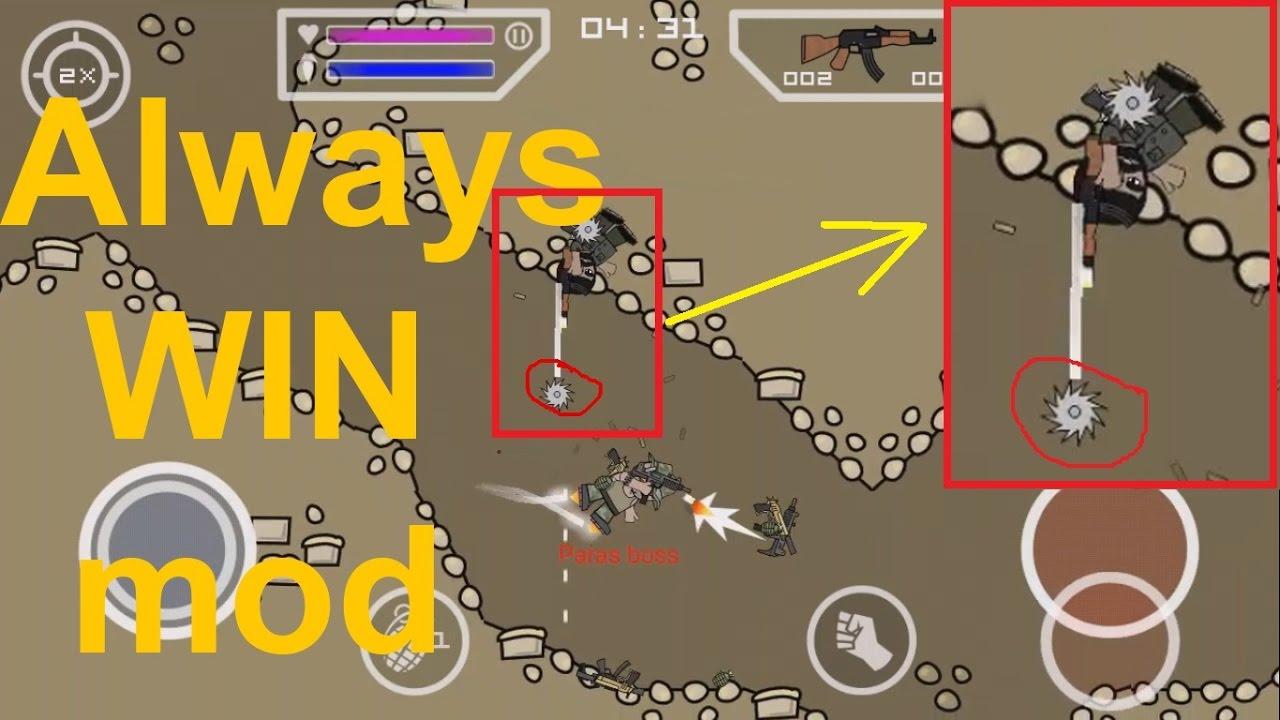 Mini Militia Hack - Always WIN mod - YouTube