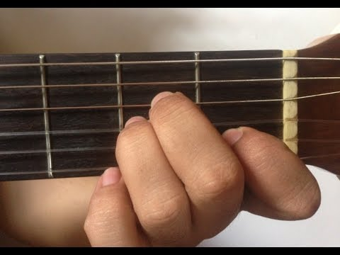 Tutorial Chord / Kunci Gitar Dasar Minor Untuk Pemula