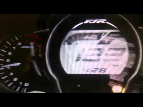 FJR1300 top speed - YouTube